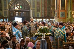 Престольный праздник Свято-Благовещенского собора