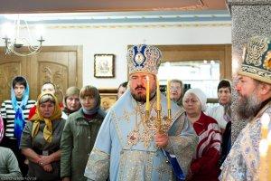 Божественная литургия  в храме 5 ЦКБ г. Харькова