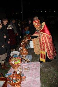 Великоднє святкування в Кегичівці