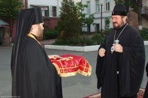 Архиепископ Харьковский и Богодуховский Онуфрий прибыл в Харьков