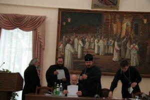 Собрание благочинных Харьковской епархии