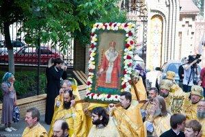 В день памяти святителя Афанасия, патриарха Цареградского в Свято-Благовещенском соборе прошло соборное архиерейское богослужение