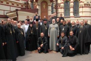 Благодарственное слово   архиепископа Харьковского и Богодуховского Онуфрия