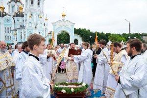 В праздник Вознесения Господня архиепископ Онуфрий посетил храм священномученика Александра г. Харькова