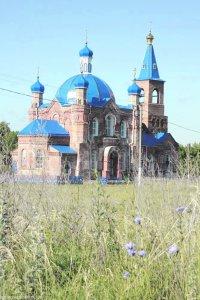 Архиепископ Онуфрий освятил обновленный Свято-Покровский   храм с. Карасевка Золочевского р-на