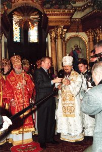 Год 2001 80 лет — мгновение жизни Высокопреосвяшеннейшего Митрополита Харьковского и Богодуховского Никодима