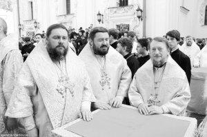 Архиепископ Онуфрий принял участие в праздновании 20-летия Предстоятельского служения Блаженнейшего Митрополита Владимира