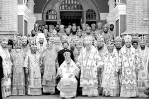 Архиепископ Онуфрий принял участие в торжествах по случаю дня архиерейской хиротонии Предстоятеля УПЦ