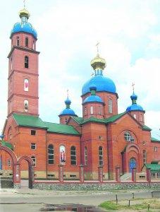 Освящение храма в г. Лозовая