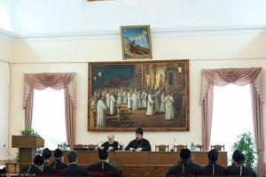 Архиепископ Онуфрий встретился с благочинными епархии
