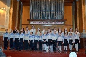 Рождественский концерт воскресных школ
