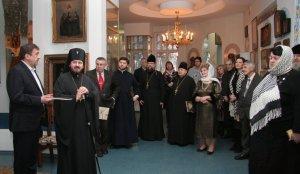 Состоялась презентация книги опротоиерее Василии Дьолог