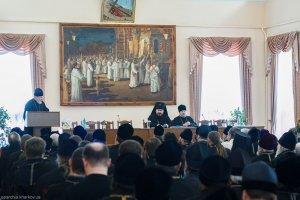 На собрании духовенства Харьковской епархии подведены итоги 2012 года