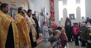 Святкування першої річниці освячення храму