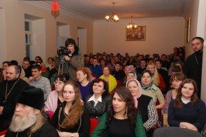 Праздничный вечер на Сырной неделе вдуховной семинарии