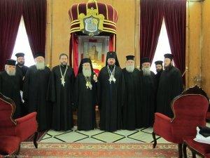 Архиепископ Онуфрий совершил  паломническую поездку на Святую Землю