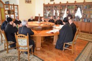 Архиепископ Онуфрий провел собрание Епархиального совета