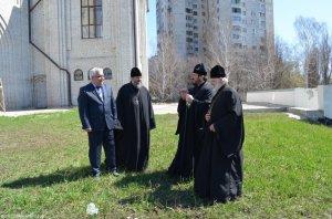 Архиепископ Онуфрий благословил возведение памятника князю Владимиру и строительство двух новых храмов в Харькове
