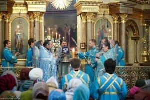 В праздник Благовещения Пресвятой Богородицы