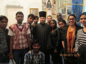 Иностранные студенты посетили Церковно-исторический музей