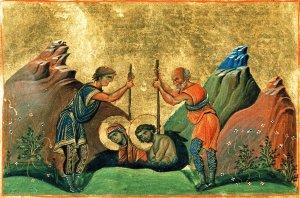 Святые мученики Хрисанф и Дария и с ними мученики Клавдий трибун, Илария, жена его, Иасон и Мавр, сыновья их, Диодор пресвитер и Мариан диакон