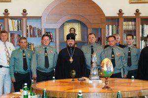 Архиепископ Онуфрий встретился сруководством пенитенциарной службыУкраины