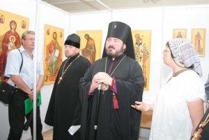 торжественное открытие  всеукраинской выставки икон