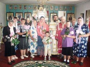 Праздник Жен-Мироносиц в селе Александровка