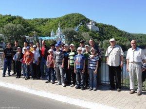 Учащиеся спецшколы совершили паломничество в Святогорскую Лавру
