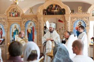 В неделю 3-ю по Пасхе архиепископ Онуфрий освятил храм в честь иконы Божией Матери «Милостивая» в Ленинском районе Харькова