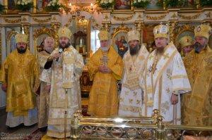 Архиепископ Онуфрий посетил город Изюм