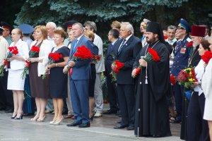 Архиепископ Онуфрий почтил память погибших вВеликой Отечественной Войне