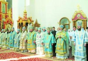Архиепископ Онуфрий принял участие в праздновании 47-ой годовщины архиерейской хиротонии Предстоятеля УПЦ