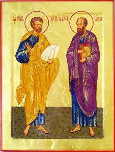 СЛОВО В ДЕНЬ ПАМЯТИ ПЕРВОВЕРХОВНЫХ АПОСТОЛОВ ПЕТРА И ПАВЛА