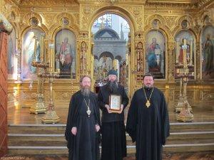 Правящий архипастырь посетил Святую Гору Афон