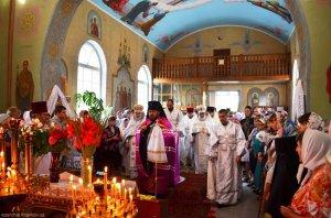 20-летие освящения  Свято-Преображенского храма города Валки