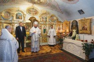 Во 2-ю годовщину смерти митрополита Никодима архиепископ Онуфрий совершил  заупокойную Литургию