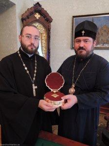 Состоялась передача частицы мощей священномученикаАлександра, архиепископаХарьковского, Винницкой епархии