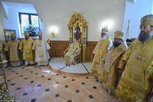 Архиепископ Онуфрий принял участие в освящении Свято-Богоявленского собора Горловской епархии
