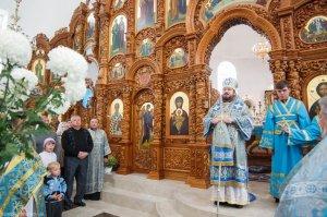 В праздник Рождества Пресвятой Богородицы архиепископ Онуфрий совершил Литургию в храме Софии Премудрости Божией г. Харькова