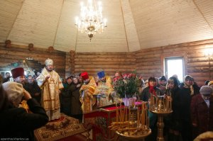 Освящение Свято-Николаевского храма пос. Мурафа