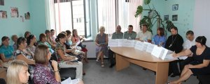 Священнослужитель Харьковской епархии принял участие в семинаре в областном центре социальных служб г. Харькова