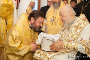 По случаю дня рождения Блаженнейшего Митрополита Владимира архиепископ Онуфрий принял участие в торжественном богослужении