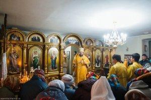 В Неделю 21-ю по Пятидесятнице архиепископ Онуфрий совершил освящение храма в честь пророка Божия Илии с. Лесное, Дергачевского района