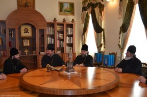 Комиссия Учебного комитета при Священном Синоде УПЦ проинспектировала Харьковскую духовную семинарию