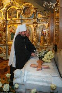 В Неделю 22-ю по Пятидесятнице Высокопреосвященнейший владыка Онуфрий совершил первую Божественную литургию всанемитрополита