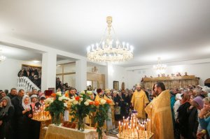 Освящение храма святителя Спиридона Тримифунтского в г. Харькове