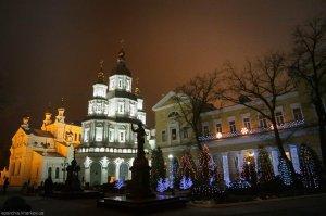 Литургия в новогоднюю ночь