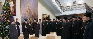 Поздравление от священнослужителей и сотрудников епархии снаступающим праздником Рождества Христова