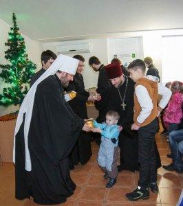 Посещение Харьковского Дома ребенка №1